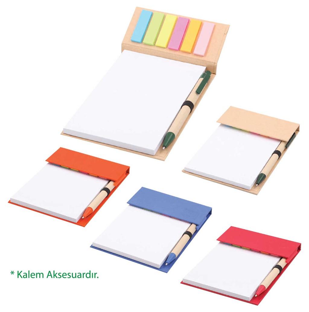 Renkli Yapışkanlı Notluk
